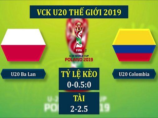 Dự đoán U20 Ba Lan vs U20 Colombia, 1h30 ngày 24/05
