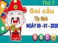 Soi cầu XSTN ngày 9/1/2020 – Soi cầu xổ số Tây Ninh thứ 5