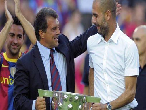 Có thể Pep Guardiola trở lại ghế chủ tịch Barca