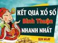 Soi cầu XS Bình Thuận chính xác thứ 5 ngày 31/12/2020
