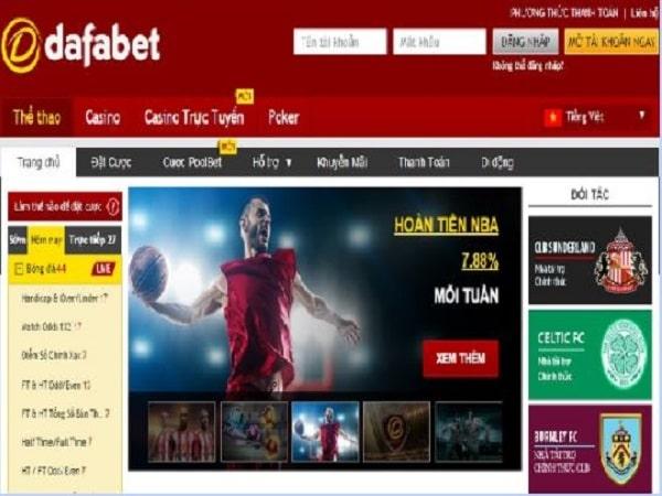Dafabet link và cách đăng ký tài khoản nhà cái dafabet cực đơn giản