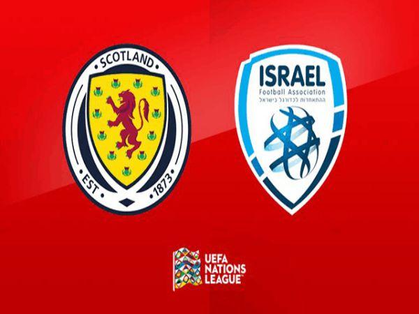 Soi kèo bóng đá Scotland vs Israel, 01h45 ngày 05/09, Nations League