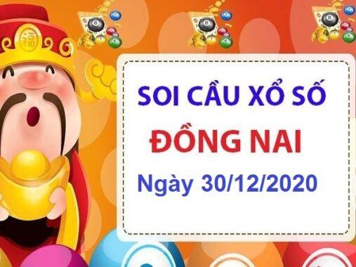 Soi cầu XSDN ngày 30/12/2020