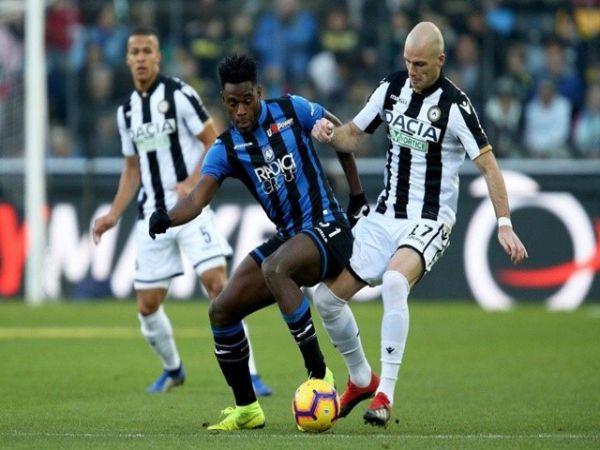 Nhận định tỷ lệ Udinese vs Atalanta, 21h00 ngày 20/1 - VĐQG Italia