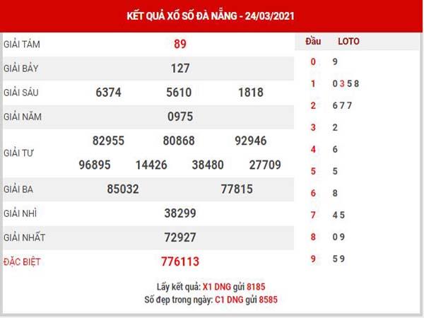 Dự đoán XSDNG ngày 27/3/2021 - Dự đoán KQ Đà Nẵng thứ 7 chuẩn xác