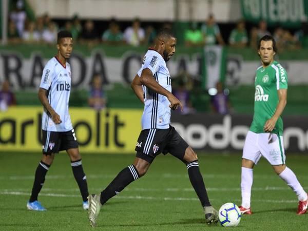 Nhận định trận đấu Sao Paulo vs Chapecoense (5h00 ngày 17/6)