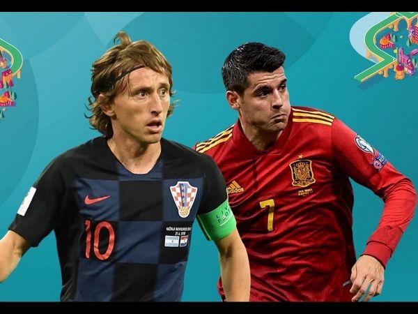 Nhận định, soi kèo Croatia vs Tây Ban Nha, 23h00 ngày 28/6 - Euro 2021