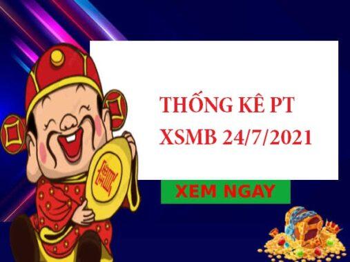 Thống kê phân tích XSMB 24/7/2021 thứ 7