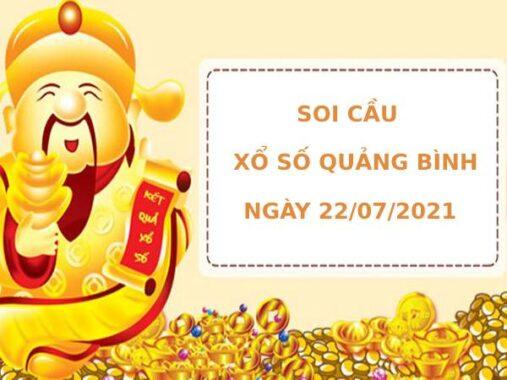 Soi cầu XS Quảng Bình chính xác thứ 5 ngày 22/07/2021