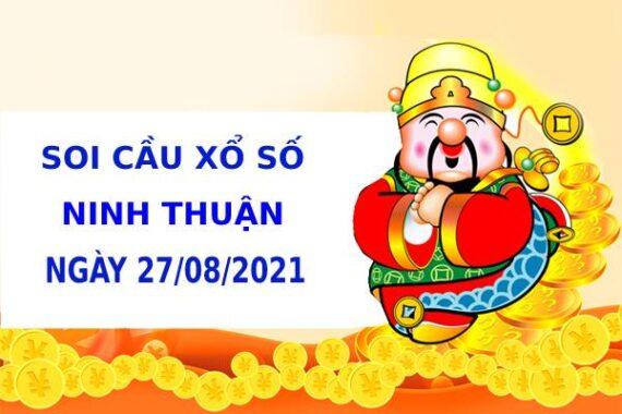Soi cầu XS Ninh Thuận chính xác thứ 6 ngày 27/08/2021
