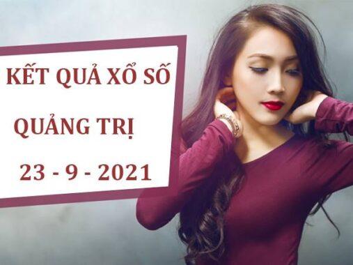 Thống kê Xổ Số Quảng Trị thứ 5 ngày 23/9/2021