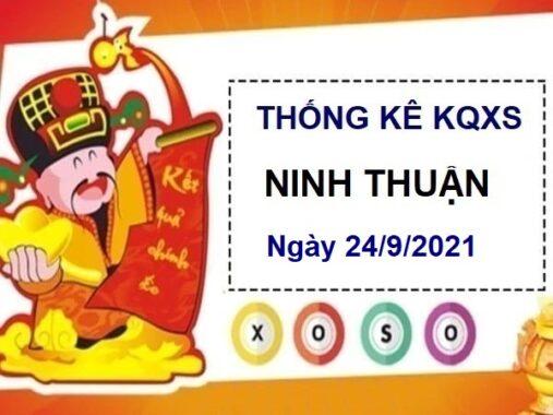 Thống kê xổ số Ninh Thuận ngày 24/9/2021 thứ 6 hôm nay