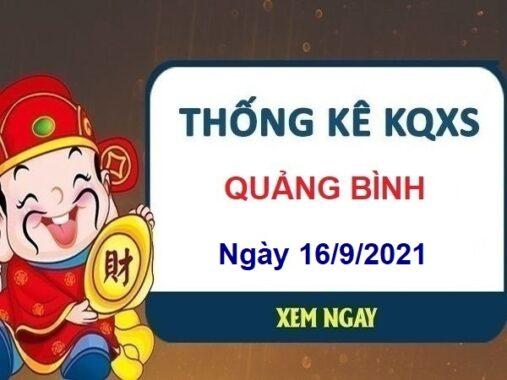 Thống kê xổ số Quảng Bình ngày 16/9/2021 hôm nay thứ 5