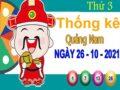 Thống kê XSQNM ngày 26/10/2021 – Thống kê đài xổ số Quảng Nam thứ 3